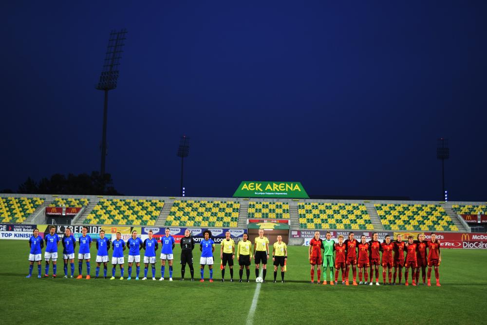 Cyprus Women's Cup | AEK Arena - Georgios Karapatakis | Football ...
